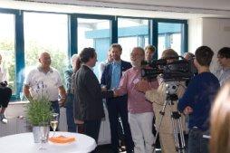 DAASI International Jubilaeum: Peter Gietz begrüßt Boris Palmer