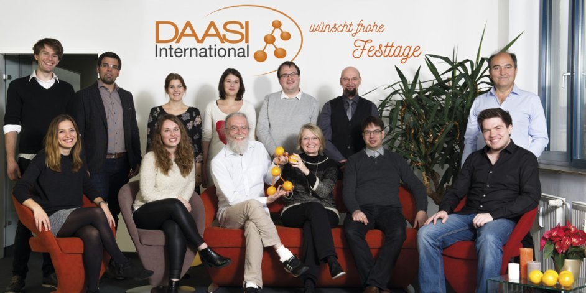 DAASI International wünscht frohe Weihnachten