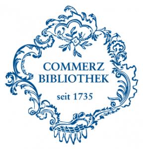 Logo: Commerzbibliothek (library of commerce)