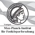 Logo: Max-Planck-Institute for Solid State Research