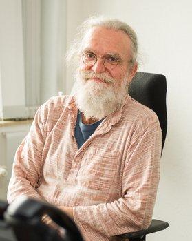 Photo: Peter Gietz, CEO of DAASI International
