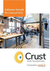 Cover: Flyer zu Crust auf der UCS