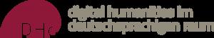 Logo: digital Humanities in the DACH region