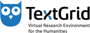 Logo: virtual research environment TextGrid