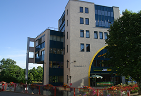 Photo: office building of DAASI International in Tübingen (preview for download)