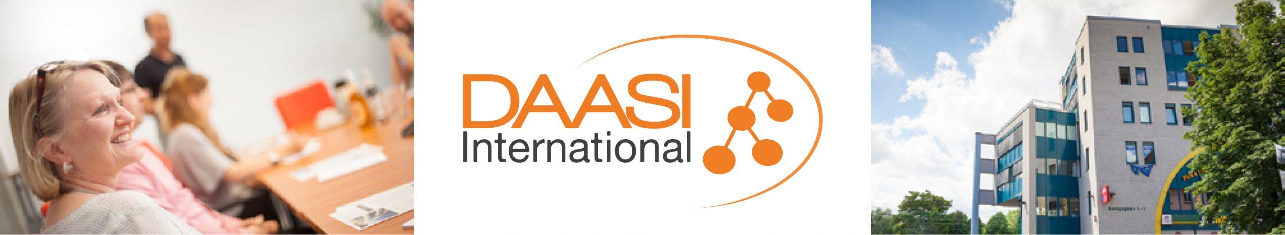 Überschrift DAASI International