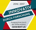 """Siegel """"Innovativ durch Forschung"""", Jahr 2016/2017"""