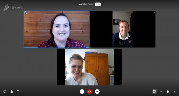 Screenshot of a Jitsi Meeting