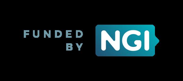 """Logo """"Funded by NGI"""""""