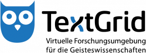 Logo der virtuellen Forschungsumgebung TextGrid