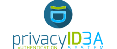 Logo of the software privacyIDEA developed by NetKnights