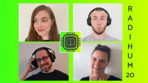 Das Team des Podcasts RaDiHum 20